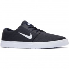 Nike SB Portmore Ultralight Shoes - Obsidian/White