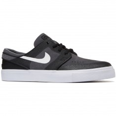 Nike Zoom Stefan Janoski Elite Shoes - Dark Grey/White/Black