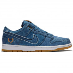 Nike SB Dunk Low Rivals Shoes - Utility Blue/White