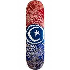 """Foundation Star and Moon Waves Skateboard Deck - 8.25"""""""