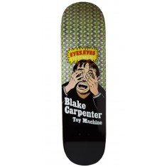 Toy Machine Carpenter Eyes Eyes Skateboard Deck - 8.375""