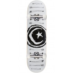 """Foundation Star and Moon Scribble Skateboard Complete - 8.25"""""""