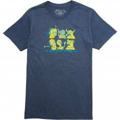 Toy Machine Friends T-Shirt - Navy Heather