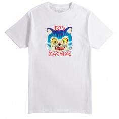 Toy Machine Angry Cat T-Shirt - White
