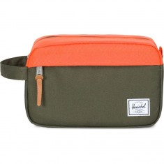 Herschel Chapter Travel Accessory - Forest Night/Vermillion Orange