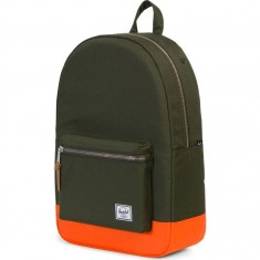 Herschel Settlement Backpack - Forest Night/Vermillion Orange