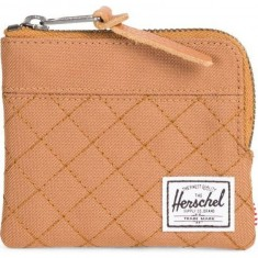 Herschel Supply Johnny Wallet - Quiltpoly Caramel