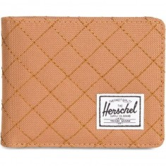 Herschel Supply Roy Wallet - Quiltpoly Caramel