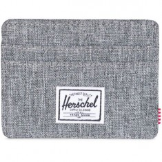 Herschel Supply Charlie Wallet - Raven Crosshatch