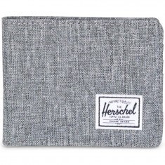 Herschel Supply Roy Wallet - Raven Crosshatch