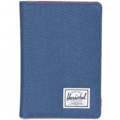 Herschel Supply Raynor Passport Holder - Navy/Red