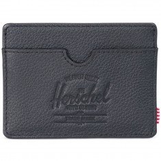 Herschel Supply Charlie Leather Wallet - Black