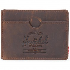 Herschel Supply Charlie Leather Wallet - Nubuck