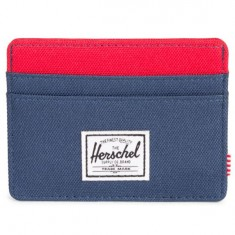 Herschel Supply Charlie Wallet - Woodland Camo/Navy/Red