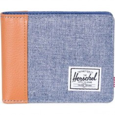 Herschel Edward Wallet - Dark Chambray Crosshatch
