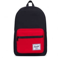 Herschel Pop Quiz Backpack - Black/Scarlet