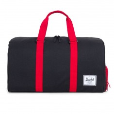Herschel Novel Duffle Bag - Black/Scarlet