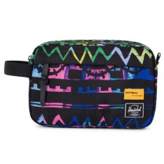 Herschel Chapter Bag - Zig Zag Blue/Green