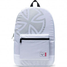 87feb54fcf6 Herschel Supply x Independent Packable Daypack Backpack - Poly White