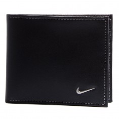 Nike Blocked Billfold Wallet - Black/Wolf Grey