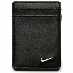 Nike Blocked Front Pocket Wallet - Balck/Black