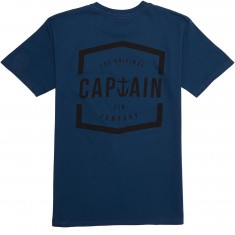 Captain Fin Tea and Strumpets T-Shirt - Harbor Blue