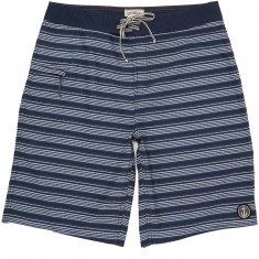 """Captain Fin Frequency 21"""" Boardshorts - Navy"""