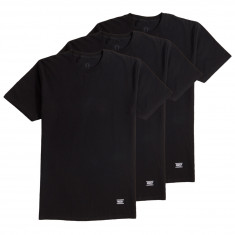 Grizzly Tagless 3 Pack Of T-Shirt - Black