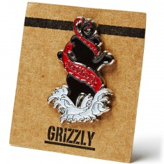 Grizzly Inked Pin