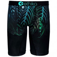 Ethika Bright Night Boxer Brief - Black
