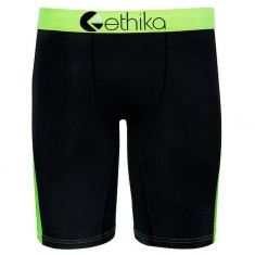 Ethika Slime Gradient Underwear - Black/Green