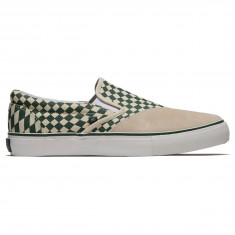 Clear Weather Dodds Shoes - Green Check Trip