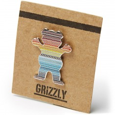 Grizzly Mexican Blanket Pin