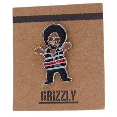 Grizzly Hyphy Pin