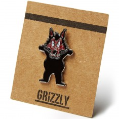 Grizzly Wolfpack Pin - Black