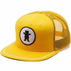 Grizzly OG Bear Patch Trucker Hat - Yellow