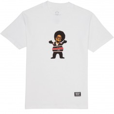 Grizzly Hyphy Bear T-Shirt - White