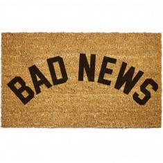 Grizzly Bad News Doormat - Natural