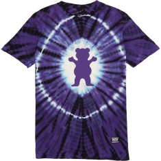 Grizzly OG Bear Xray Tie Dye T-Shirt - Liberty