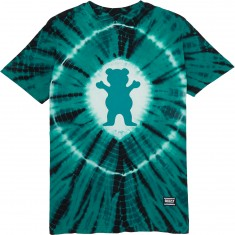 Grizzly OG Bear Xray Tie Dye T-Shirt - Mint
