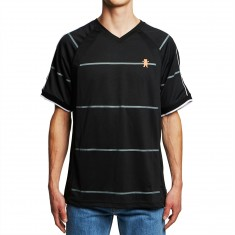 Grizzly Pursuit Striped Jersey - Black