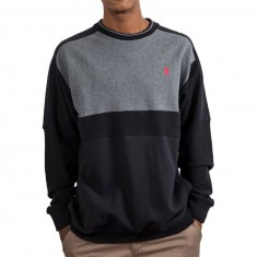 Grizzly Top Of The Key Crewneck Sweater - Black