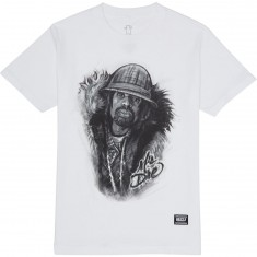 Grizzly Judge Dre T-Shirt - White