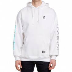 Grizzly California Livin Hoodie - White