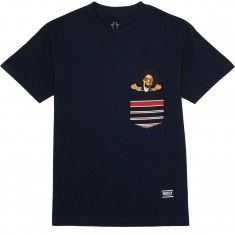 Grizzly Mac Drevious Pocket T-Shirt - Navy