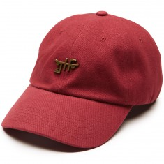 Just Have Fun Chopper Dad Hat - Burgundy