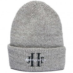 Just Have Fun Stoned Wash Beanie - Heather Grey