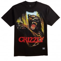 Grizzly Hunting Season T-Shirt - Black