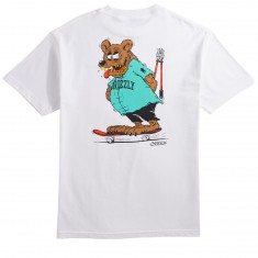 Grizzly Bear Fink T-Shirt - White