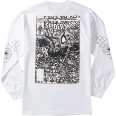 Grizzly X Spiderman Longsleeve T-Shirt - Vintage White
